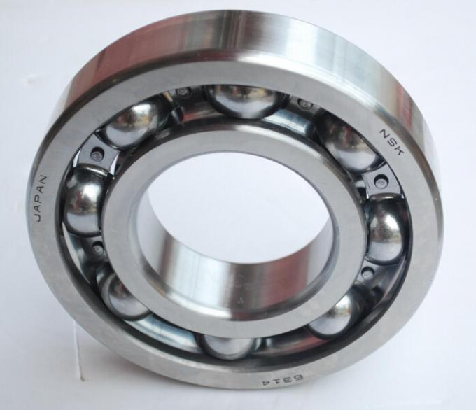 Steel Cage Deep Groove Ball Bearings NSK 6314 Bearing For Bearing Importers