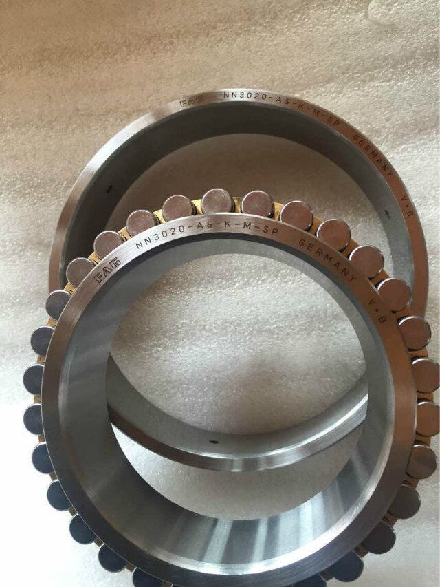 Original FAG Double Rows Cylindrical Roller Bearings NN3020- As - K - M - Sp