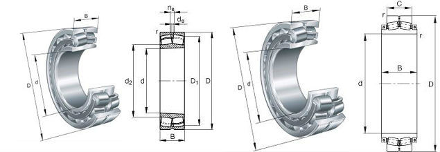 good quality Spherical Roller Bearing 22216 MB W33 for Light textile and Agriculture