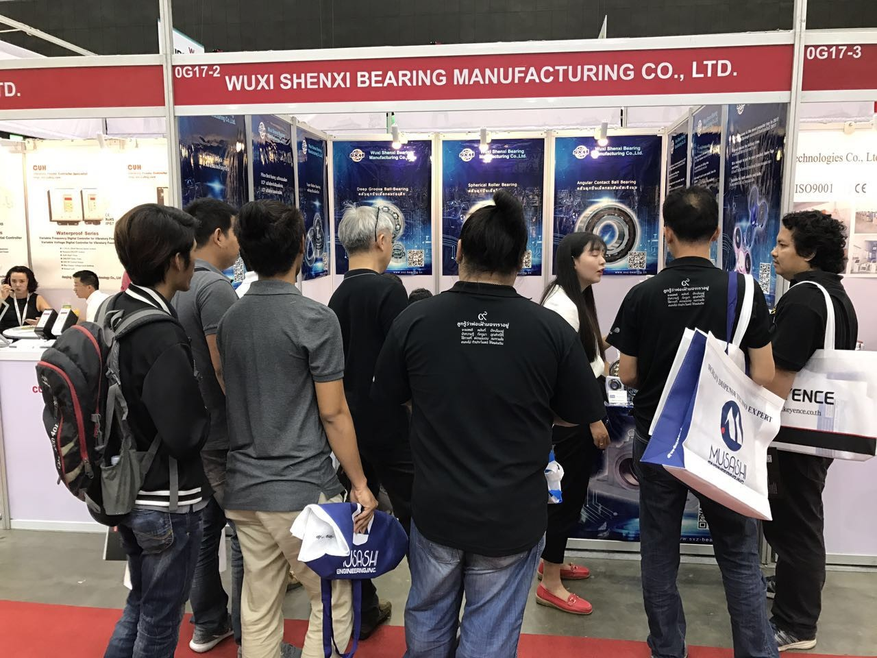 china latest news about Manufacturing Expo 2017 at Bitec Bangkok win a big success