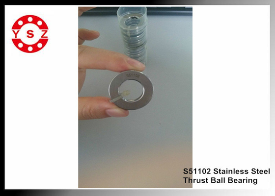 S51102 Single Direction Thrust Ball Bearing 304 440 420 Stainless Steel