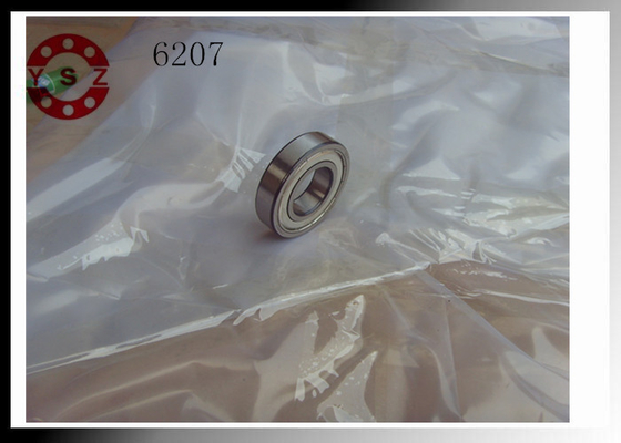 Deep Groove Ball Bearings Low Friction 6207 / High Speed  Ball Bearings
