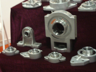 Pillow Block Bearings UCP317 With Cast Iron Pillow Blocks For Electricity Generators