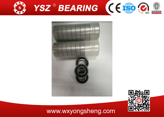 Rubber Seals Deep Groove single row ball bearing 6003-2RS With Plastic Tube Package