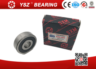 Motorcycle Ball Bearing Deep Groove Ball Bearings 6300 ZZ / 2RS / OPEN 10*35*11 MM