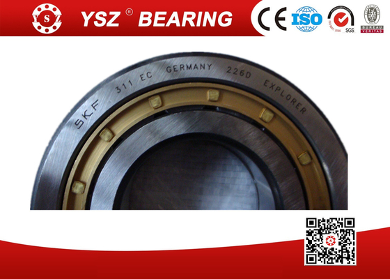 SKF Brass Holder Cylindrical Roller Bearings Single Row High Speed NUP311ECM C3 55*120*29