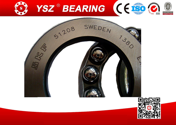 SKF OEM Single Direction GCr15 Thrust Ball Bearing 51208 40*68*19 mm High Axial Load Light Duty  51200 series