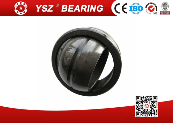 Steel Radial Ball Joint Bearings GEM 40 ES -2RS For Machinery , 40*62*38 Mm
