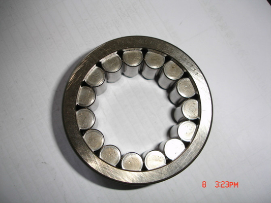 NU / NJ / N203 Eccentric Cylindrical Roller Thrust Bearings Single Row With Chrome Steel