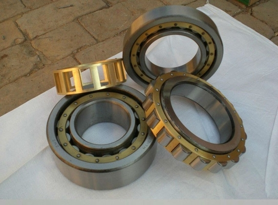 Single Row Cylindrical Roller Thrust Bearings , NU Type Cylindrical Roller Bearing Nj202