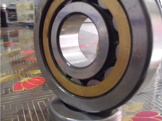 Chrome Steel Cylindrical Roller Thrust Bearings NUP2205 With High Accuracy