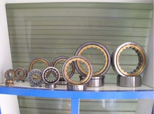 Brass Cage Cylindrical Roller Thrust Bearings , Full Complement Cylindrical Roller Bearing