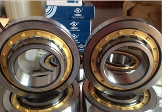 High Performance Cylindrical Roller Thrust Bearings Chrome Steel With Brass Cage NUP206