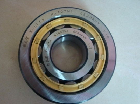 Single Row Cylindrical Roller Thrust Bearings Chrome Steel With Low Friction