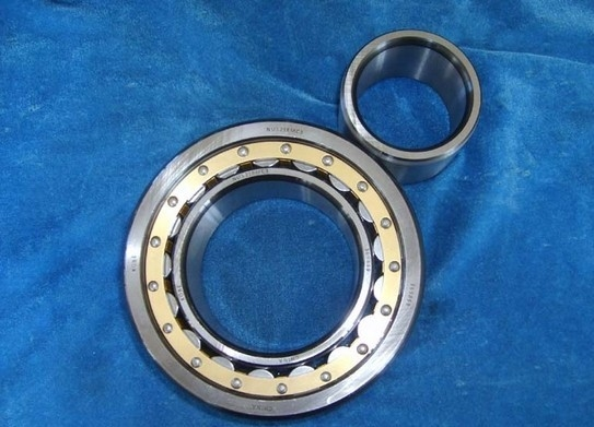 Chrome Steel Cylindrical Roller Thrust Bearings Single Row With High Precision NU2206