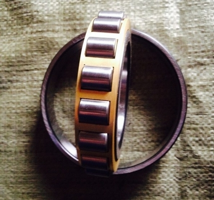 Chrome Steel Cylindrical Roller Thrust Bearings Durable With High Performance NUP417M / 92417