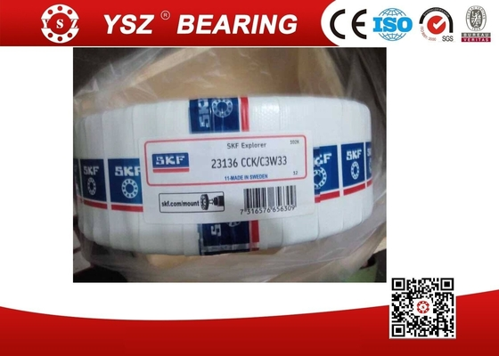SKF Structure Spherical Roller Bearing 23136 CCK / C3W33 For Crusher Machine