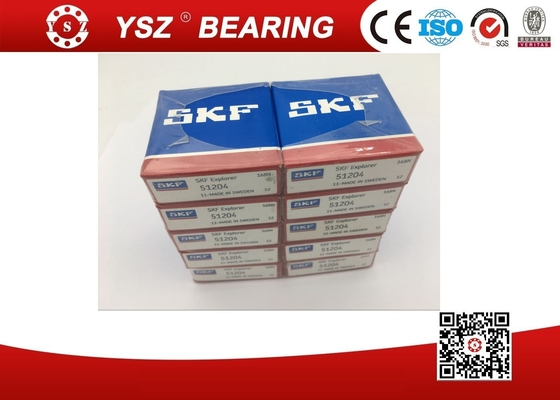SKF 51204 Original Package Anti Friction Bearings For Railway Transmission System