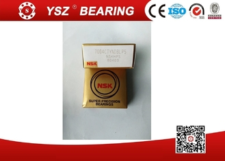Fibre Cage 7004CTYNDBLP5 NSK Angular Contact Ball Bearings Apply In Spindle Machine