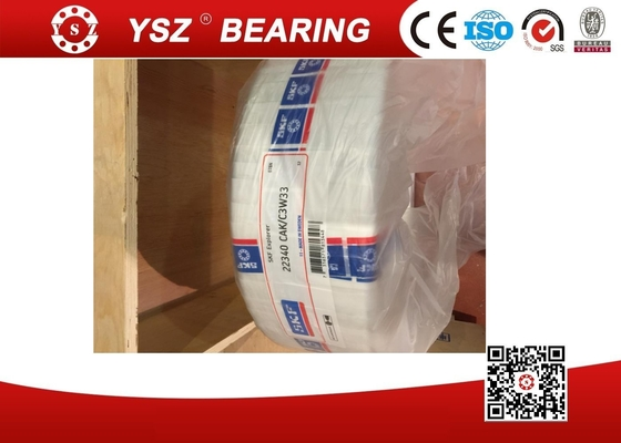 China Brass Cage 22340 CAK / C3 W33 SKF Spherical Roller Bearing For Rolling Mill Industry supplier