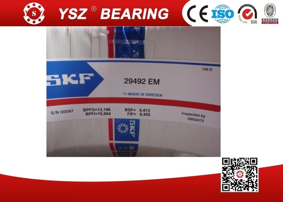 China SKF Brass Cage 29492EM Spherical Roller Thrust Bearing For Coal Mining Industry supplier