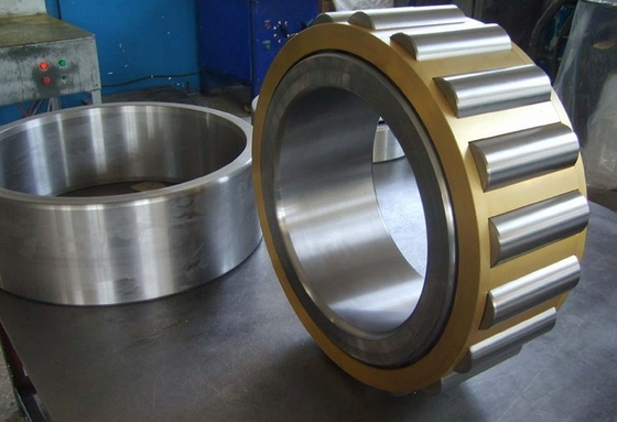 TS16949 Cylindrical Roller Thrust Bearings , Nachi Cylindrical Roller Slewing Bearing NJ203EMC3