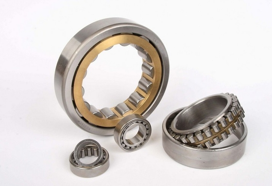 High Accuracy Cylindrical Roller Thrust Bearings Durable With Chrome Steel NU207E