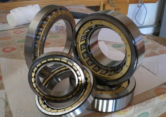 Single Row Cylindrical Roller Thrust Bearings Durable With NH / NU / NJ / NUP / NF / N / SL Type