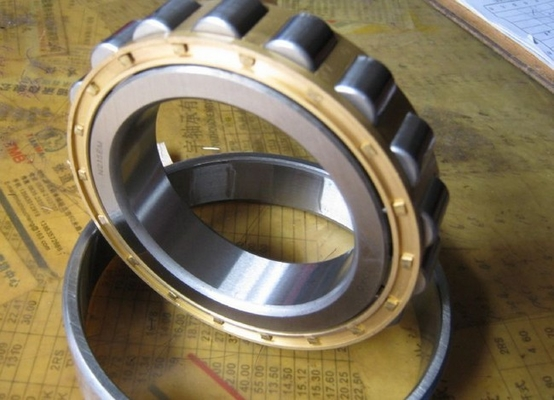 High Performance Cylindrical Roller Thrust Bearings Single Row , Low Friction