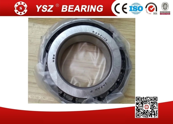 China NSK R38Z-13 Single Row Tapered Roller Bearings Steel Cage For Plastic Machinery supplier