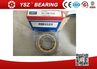 SKF NU 308 ECM Cylindrical Roller Bearings Rolling Mill Roller Brass Cage Bearing