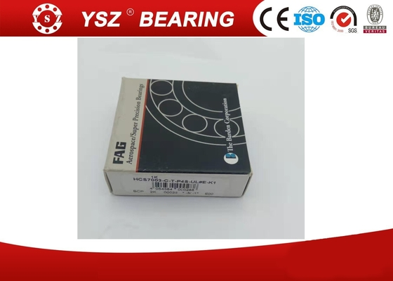 Nylon Cage HCS7003CTP4SULEK1 FAG Angular Contact Ball Bearing CNC Application