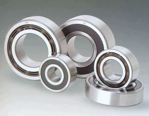Single Row Angular Contact Ball Bearing For High Frequency Motors