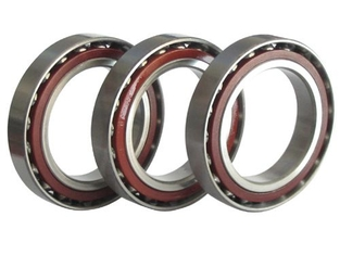 Two Inner Rings Angular Contact Ball Bearing for Gas Turbines / Oil Pumps Single Row