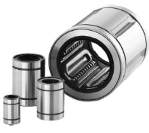 Smooth Linear Motion Ball Bearings For Precision Machinery With Open Type