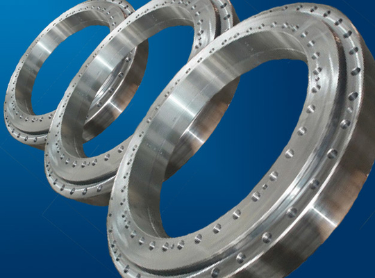 Slewing Ring Bearings of Single Row Four Point External Gear For Excavating Machinery