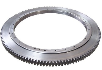 Single Row Slewing Ring Bearings Four Point Contact Ball For Lifting Machinery