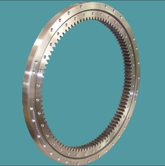 Single Row Four Point Slewing Ring Bearings Contact Ball External Gear For lift Machinery