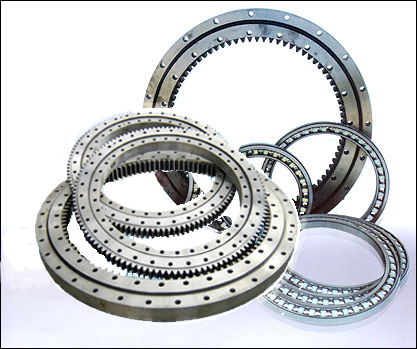 Single Row Slewing Ring Bearings of External Gear For Engineering Crane