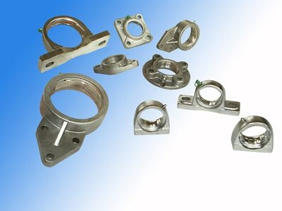 Pillow Block Bearings UCFCS213 With Sheet Steel Housings For Deceleration Devices