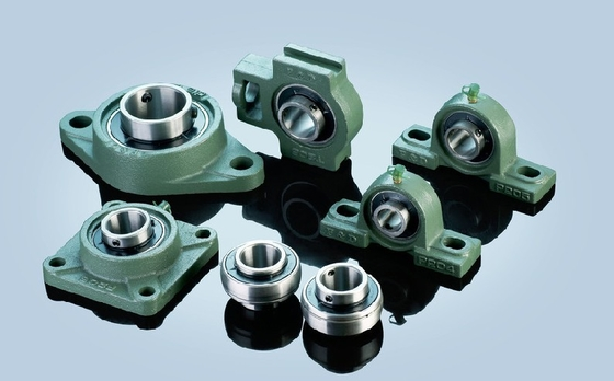 UCFCS210, UCFCF210-32 Pillow Block Bearings With Grub Screws of Cast Iron Pillow Blocks