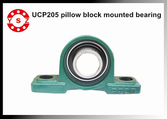Heavy Duty Pillow Block Mounted Bearings UCP205 Long Working Life