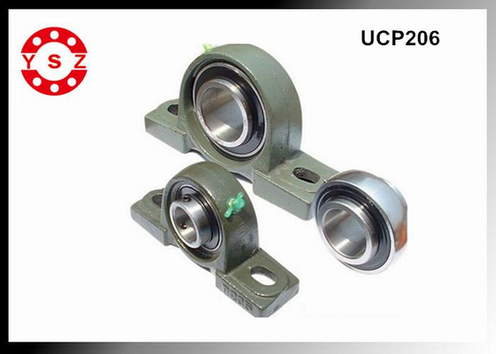 Cast Iron Pillow Block Bearings 30mm Inside Diameter Metric Size