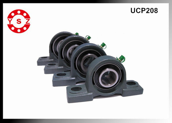 UCP208 Cast Iron Pillow Block Set Screw Lock Bearing High Speed