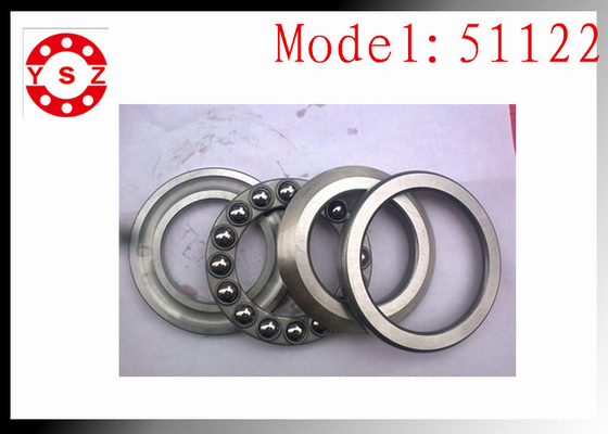 Genuine 51122 Thrust Ball Bearing  For Crane Hook Machine Smooth Rolling