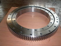 Solar tracter and special slewing ring bearing (836x1164x182mm), slew drive bearings