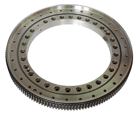 China Worm slewing drive for construction machines(1055x1445x182mm), slewing ring bearings supplier