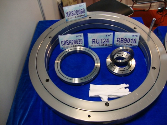 Light Type Slewing Ring Bearing with Flange - External Gear ( OD 504 - 1198mm )
