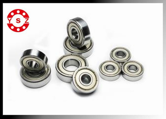 6000 Series Deep Groove Ball Bearings Chrome Steel High Temperature Resistance