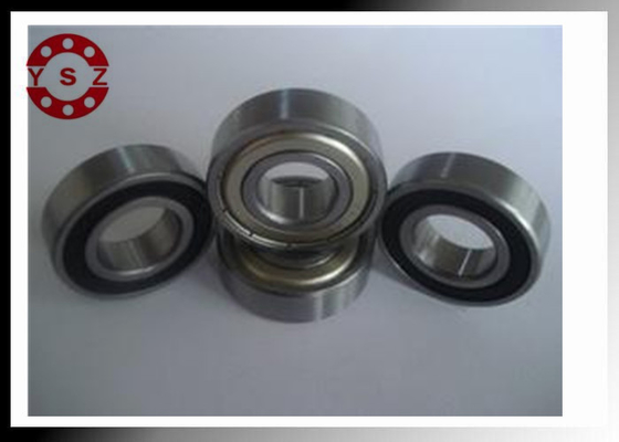 6204 Motor High Speed Bearings Chrome Steel Stainless Steel Cage